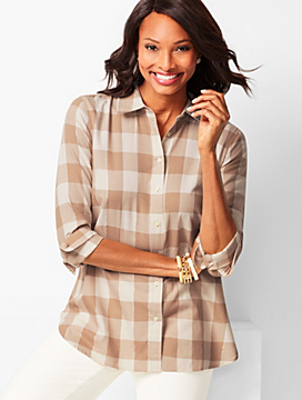 Classic Cotton Shirt - Lumberjack Plaid