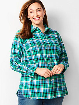 Classic Cotton Shirt - Singing Plaid