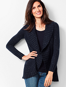 Donegal Open-Front Cardigan