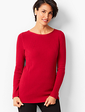 Merino Ribbed Sweater