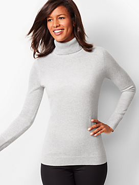 Cashmere Turtleneck Sweater - Shimmer