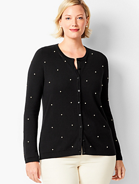 Charming Cardigan - Pearl Detail