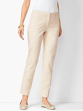 Talbots Hampshire Bi-Stretch Ankle Pants