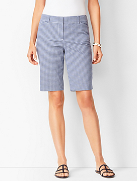 Perfect Bermuda Shorts - Gingham
