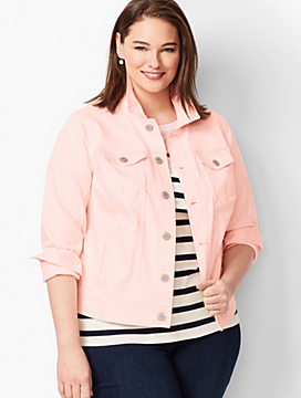 Classic Jean Jacket - Light French Rose