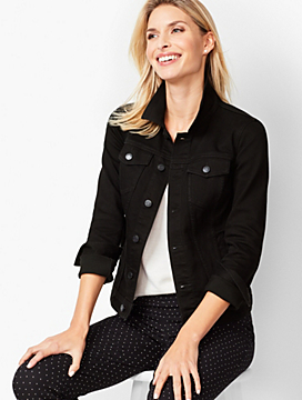 Classic Jean Jacket - Black Onyx Stretch