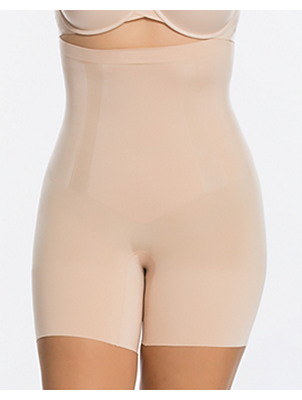 Plus Size Spanx® OnCore High-Waist Mid-Thigh Short
