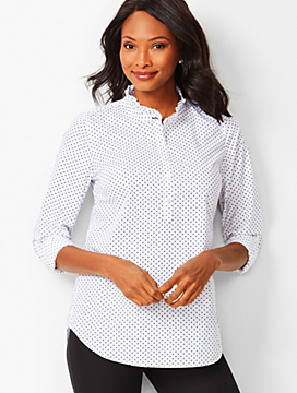 Polka Dot Half-Button Popover