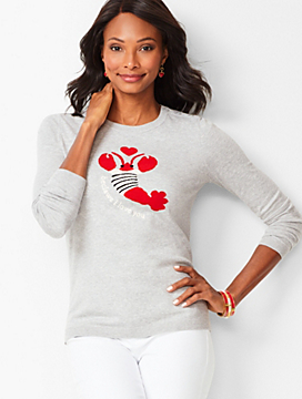 """Beclaws I Love You"" Sweater"