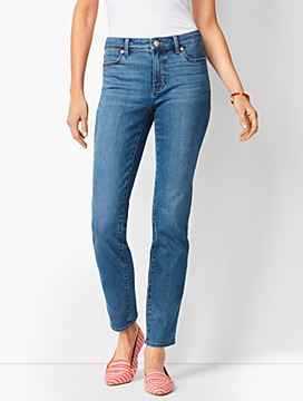Slim Ankle Jeans - Equinox Wash