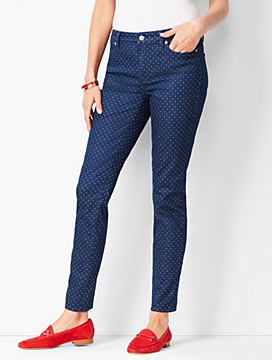 Slim Ankle Jeans - Dot