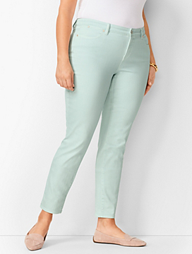 Slim Ankle Jeans - Cool Mint