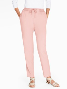 The Easy Drawstring Slim-Leg Pant