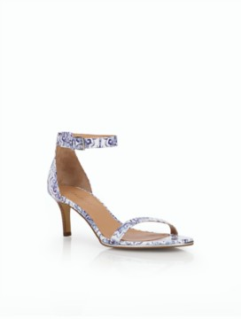 Trulli Ankle-Strap Sandals - Ornate Tile