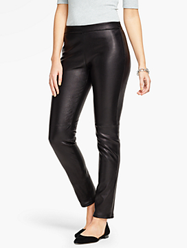 Talbots Leather Leggings