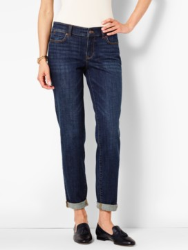 The Flawless Five-Pocket Boyfriend-Leeward Wash