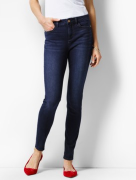The Flawless Five-Pocket Jegging-Harbor Wash