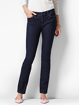The Flawless Five-Pocket Slim Ankle-Quay Wash