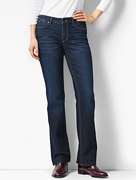 The Flawless Five-Pocket Bootcut -Curvy Fit/Mooring Wash
