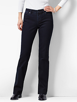 The Flawless Five-Pocket Bootcut - Curvy Fit/Nightfall Wash
