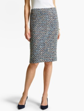 Poppy Tweed Pencil Skirt