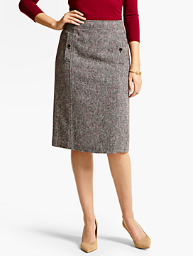 Donegal Confetti Tweed Skirt