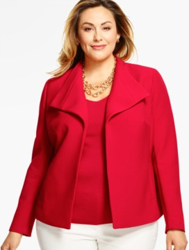 Womans Wing-Collar Jacket