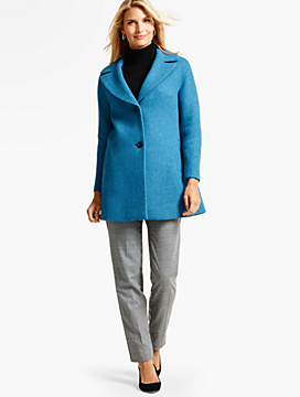 Diamond Wool Coat