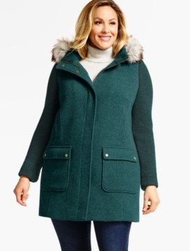 Women's Plus Size Coats & Plus Size Outerwear | Talbots