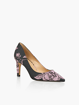 Eri Pumps-Rose Jacquard