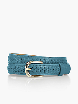 Womans Fishtail Braided Belt