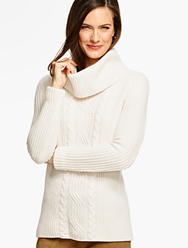 Cashmere Cowlneck Sweater