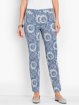 Talbots Chatham Ankle Pant-Reese Paisley