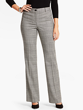 Talbots Raleigh Pant-Curvy Fit/Campbell Glen Plaid