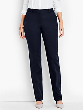 Talbots Freeport Pant-Curvy Fit/Double-Weave