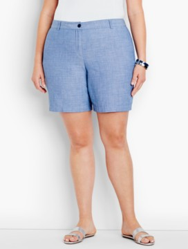 The Weekend Short-Newport Chambray