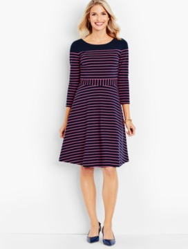 Boulevard Stripes Dress
