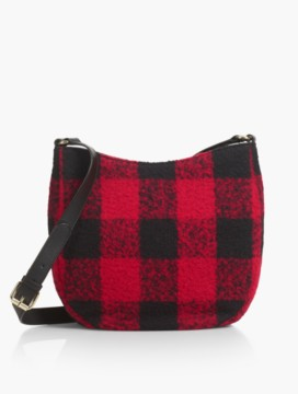 Buffalo Plaid Saddlebag