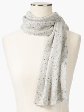Cashmere Pull-Through Scarf-Donegal Tweed
