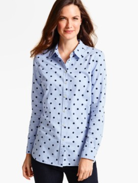 The Classic Casual Shirt-Playful Dots