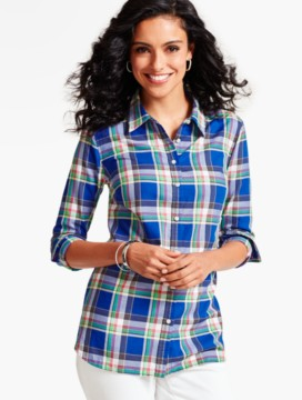 The Classic Casual Shirt-Celebration Plaid