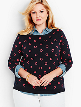 Lifesaver Dots Sweater
