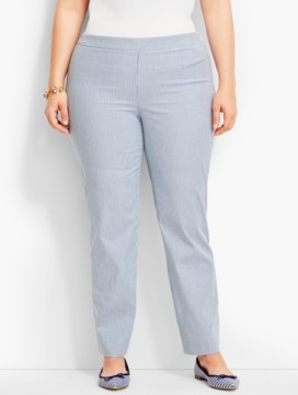 Talbots Chatham Ankle Pant-Pinstripes