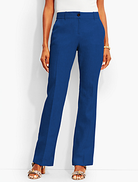 Talbots Windsor Trouser - Curvy Fit/Linen