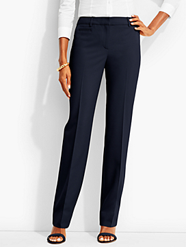 Straight-Leg Trouser-Lindsey Fabric