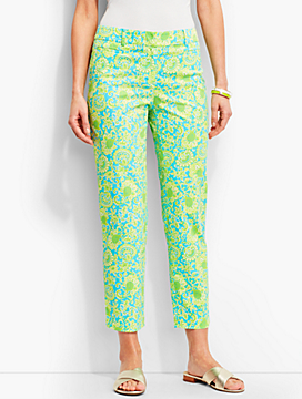 The Perfect Crop-Flower Paisley