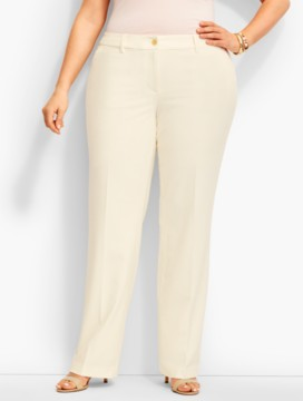 Lindsey Full-Length Trouser-Ivory