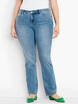 The Flawless Five-Pocket Straight-Leg-Vintage Wash