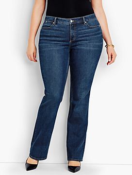 The Flawless Five-Pocket Bootcut-Americana Wash