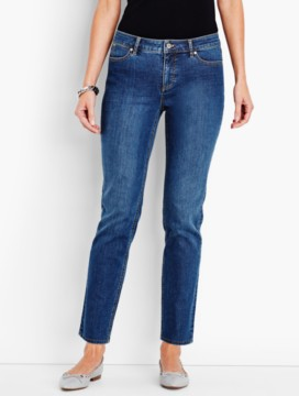 The Flawless Five-Pocket Ankle-Liberty Wash